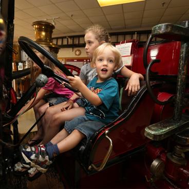 Inside Firefighters' Museum